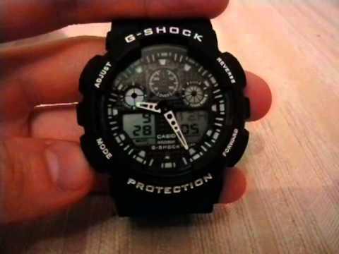 часы g-shock китайские инструкция