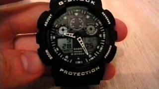 Настройка времени на часах-репликах (копии) casio g-shock(Качественные реплики g-shock тут: http://goo.gl/wEW8Cx., 2013-11-20T21:33:09.000Z)