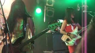 "Shonen Knife perform ""Cobra Versus Mongoose"" to close their show at..."