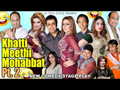 KHATTI MEETHI MOHABBAT PT.2 (New Full Stage Drama) Naseem Vicky | Comedy 2021 | Hi-Tech Stage Dramas