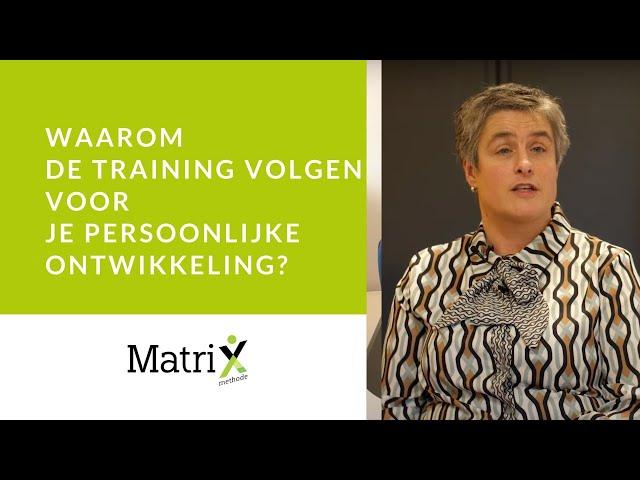 Training persoonlijke ontwikkeling volgen en cliënten helpen?