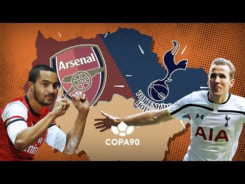 Arsenal vs Tottenham - The Battle For North London | Animation
