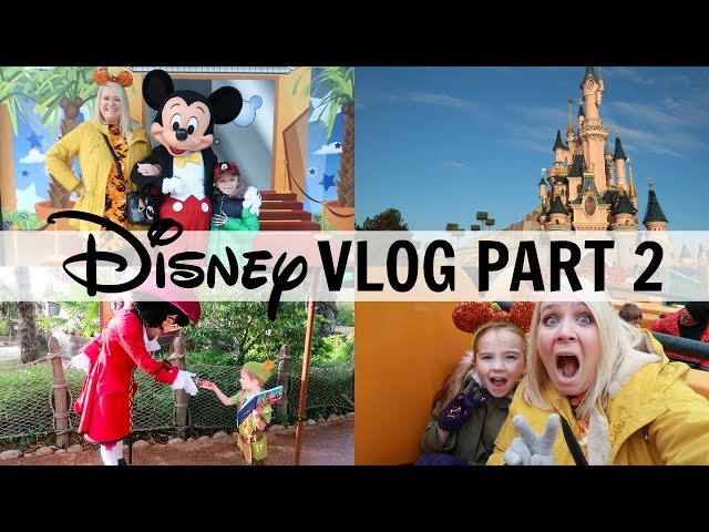 DISNEYLAND PARIS VLOGS PART 2 2018!