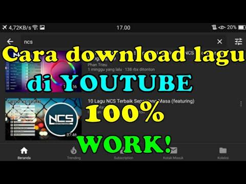 cara download lagu dari youtube ke mp3 di android
