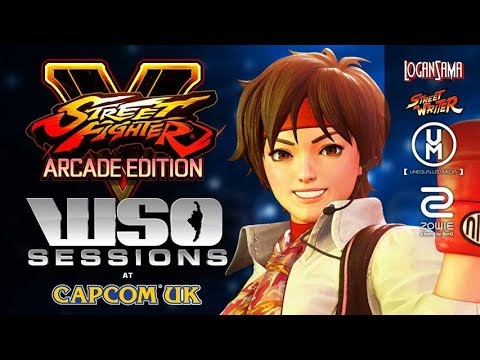 WSO Sessions 09/01/18 - Street Fighter V: Arcade Edition Showcase with Sakura