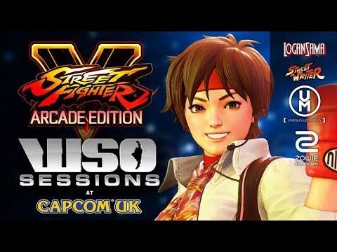 WSO Sessions 09/01/18 - Street Fighter V: Arcade Edition Showcase with Sakura