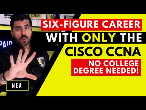 ccna-a-six-figure-career-🔥-without-a-college-degree-🚀-|-what-network-system-engineers-do-|