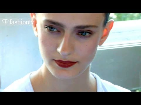 Alexis Mabille Backstage ft Morgane Dubled – Paris Couture Fashion Week Fall 2011 | FashionTV – FTV