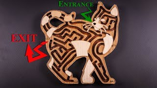 Feed the Cat Maze Puzzle - Yes it's real! Mp3