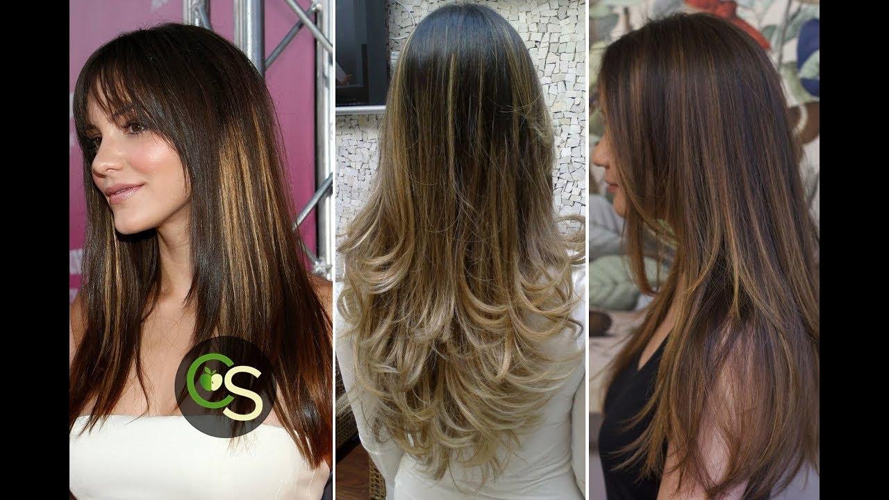 Fotos de cortes para cabello largo