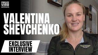 Valentina Shevchenko talks UFC 266 Title Defense Ring Girls in UFC Rose Namajunas vs Zhang 2
