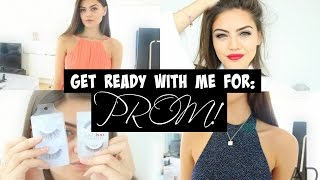 GRWM for Prom 2015 | Help me choose a dress!!!