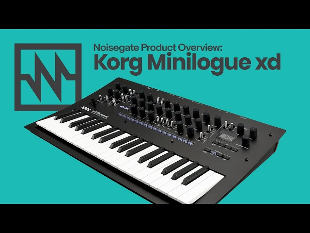 KORG: Minilogue xd Overview & Demo