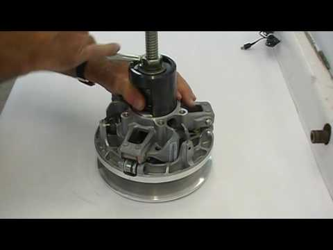 Goodwin Performance Ski-Doo 850 ETEC PDRIVE Clutch Disassembly