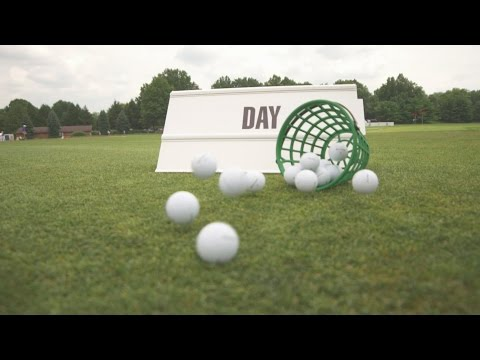 Jason Day's pre-round warm-up routine