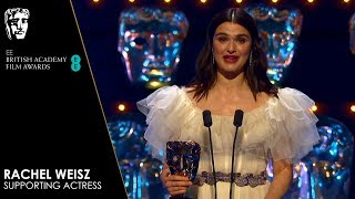 Rachel Weisz Wins Supporting Actress for The Favourite | EE BAFTA Film Awards 2019