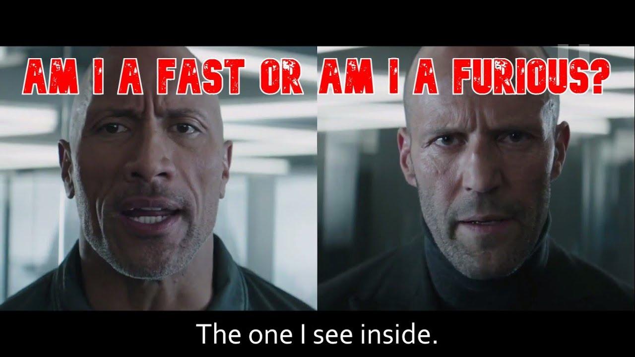 """""""Am I A Fast Or Am I A Furious?"""""""