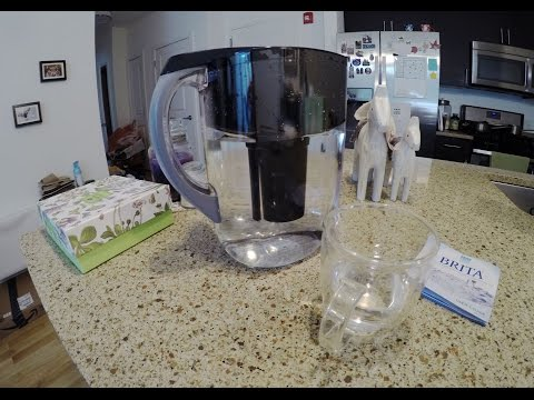REVIEW & How to use the BRITA PITCHERS (Grand): Using a gopro hero 4 to capture the shot.