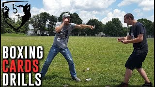 3 Fun Boxing Drills Using Only a Deck of Cards
