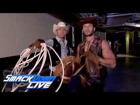Runway Walker, Texas Rangers are on the case in San Antonio: SmackDown LIVE, July 11, 2017