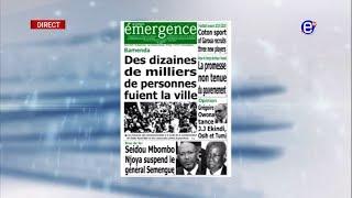 LA REVUE DES GRANDES UNES DU LUNDI 26 AOUT 2019 - ÉQUINOXE TV