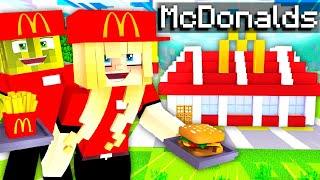 ISY & FLO ARBEITEN 1 TAG bei MCDONALDS?! - Minecraft ALLTAG