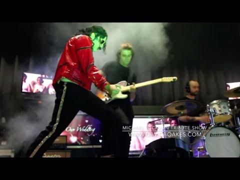 Michael Jackson Tribute Band UK David Boakes 2017 promo