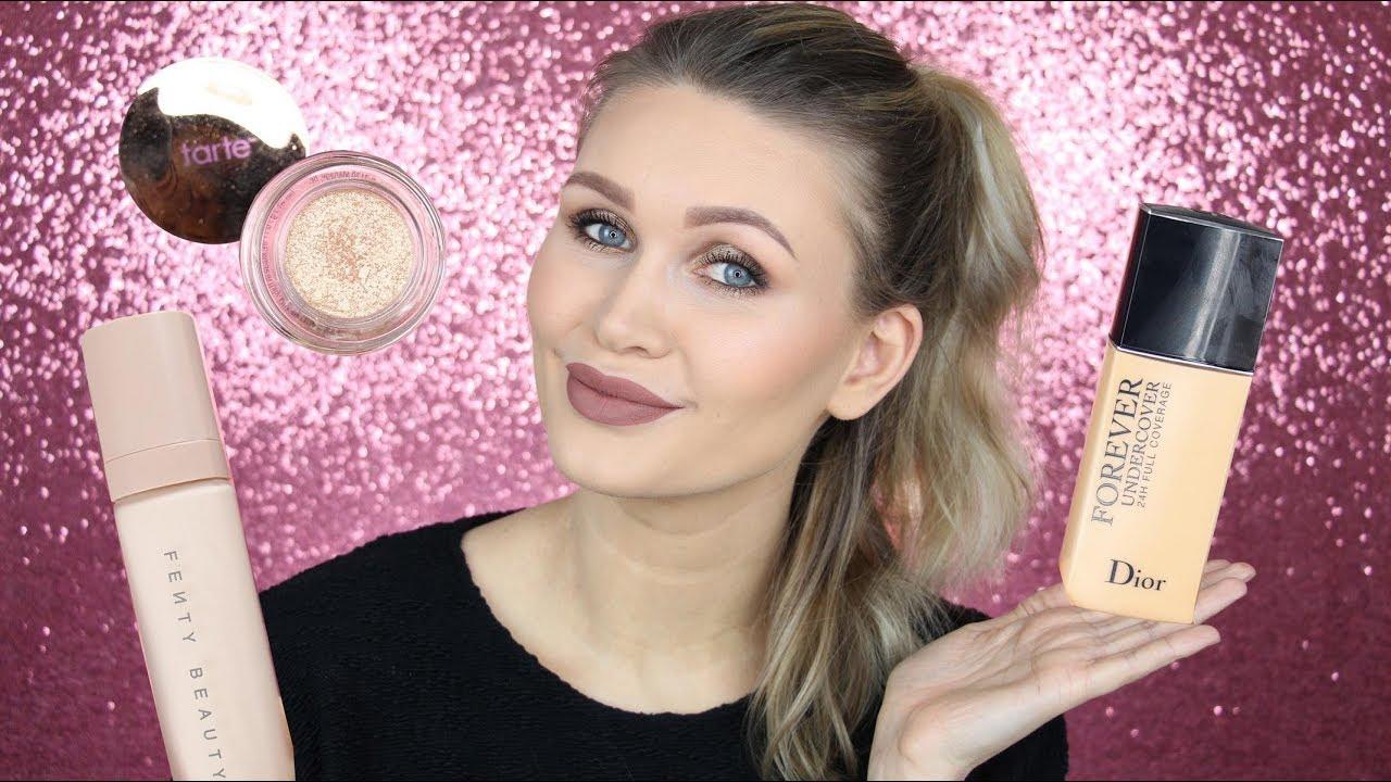 Makeup Mit Neuen Produkten Test Review Dior Tarte Fenty