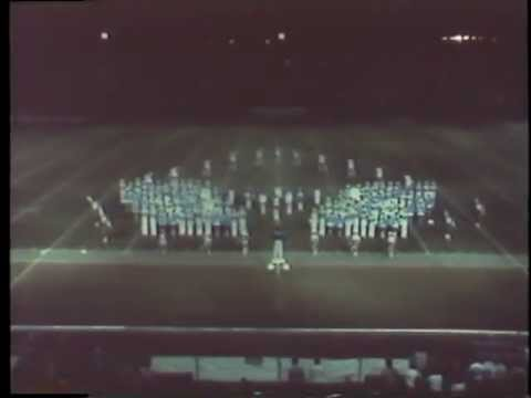 1981 Coral Springs High School Marching Band District Marching Contest