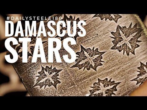 DAMASCUS STEEL STARS!!!