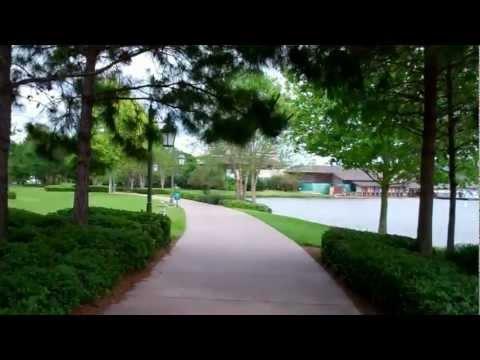 Walt Disney World Trail from Saratoga Springs to Downtown Disney Marketplace