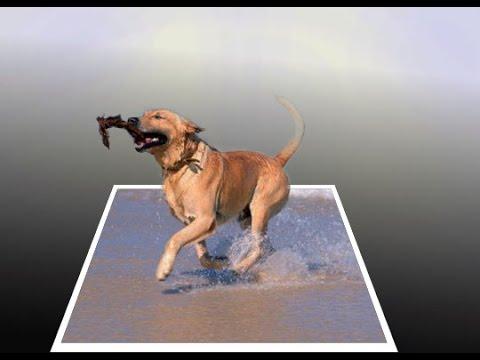 🔴  3D Картина в фотошопе! Легко и быстро + Очень легко.