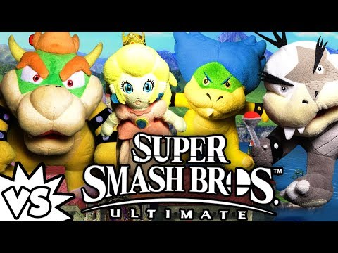 ABM: Bowser & Peach Vs Ludwig & Morton !! SUPER SMASH BROS ULTIMATE !! ᴴᴰ thumbnail