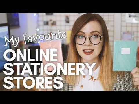 My Favourite ONLINE STATIONERY SHOPS! + Autumn Stationery Haul