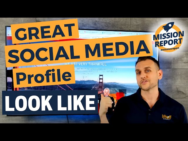 "What does a ""great"" social media profile look like? #missionreport"