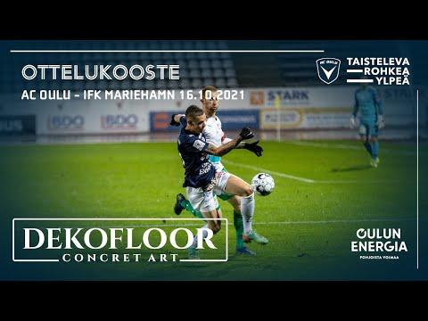 ACOTV: Dekofloor ottelukooste AC Oulu - IFK Mariehamn 16.10.2021 (Veikkausliiga)