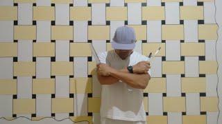 Passo a passo: Pintura decorativa em parede.