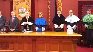Urkullu asiste a la inauguración oficial del curso de la Universidad de Deusto
