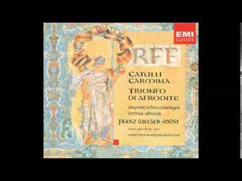 Orff: Catulli Carmina / Trionfo Di Afrodite (Franz Welser Mӧst)