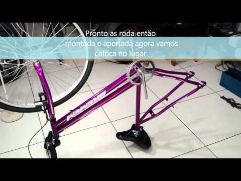 montagem triciclo 26 speed bike