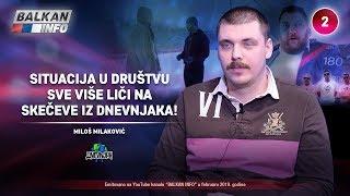 INTERVJU: Miloš Milaković - Situacija u društvu sve više liči na skečeve iz Dnevnjaka! (16.2.2019)