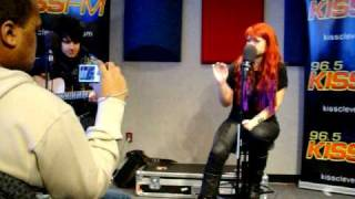 "Allison Iraheta KISS Cleveland ""Don"