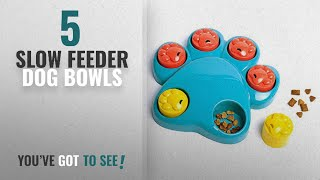 Best Slow Feeder Dog Bowls [2018]: Zehui Dog Huge Claws Training Developmental Toys Puppy Roller Paw