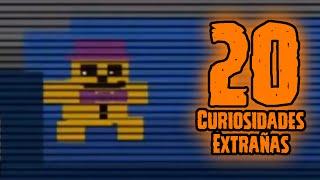 TOP 20: 20 Curiosidades Extrañas De Todos Los Minigames De Five Nights At Freddy