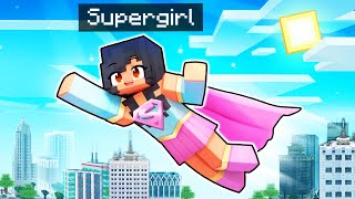 Aphmau SAVES Her Friends As SUPERGIRL In Minecraft