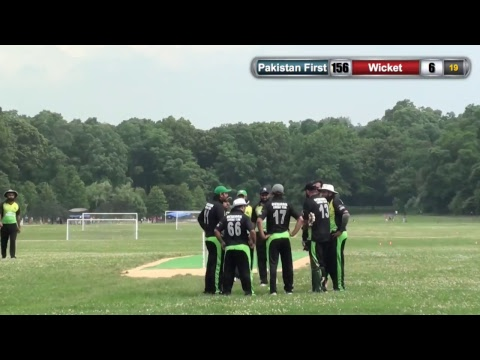 Pakistan First vs Newark Cricket Club (Pak First batting)