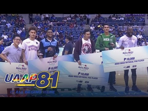 Individual Awards Men's Division   UAAP 81 Exclusive
