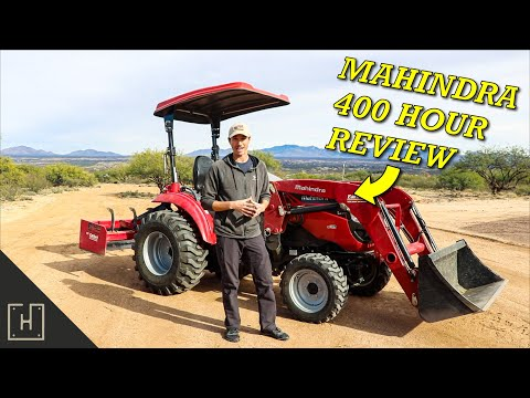 Mahindra Tractors... Should You Buy One? (1533HST 400 Hour Review)