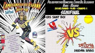 SEMIFINAL CBS SANT BOI  -  DRIDMA RIVAS  - 9:30