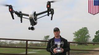Drony pomoga lokalizować bezdomne psy w Houston
